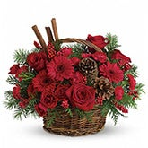 Berries and Spice Holiday Arrangement