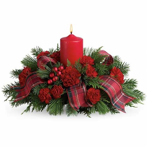 Family Celebration Holiday Centerpiece