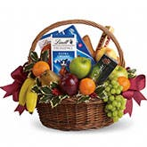 Sweet Tooth N' Fruits Gift Basket