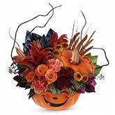 Spooktacular Surprise Pumpkin Bouquet
