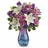 Che Bella Purple Rose Bouquet