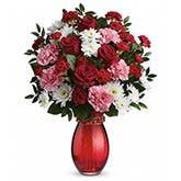 Sweet Red Rose Mixed Bouquet