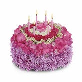 Your Special Day Flowers Cake