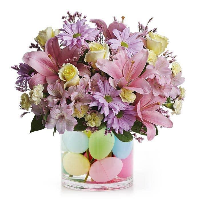 Pastel Easter Egg Bouquet