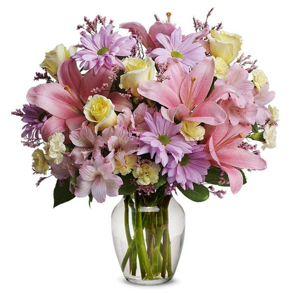 Carnation Pastel Flowers Bouquet