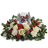 Thomas Kinkade Christmas Centerpiece