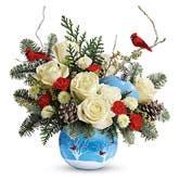 Cardinal Ornament Bouquet