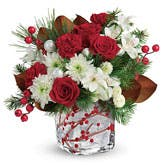Christmas Berry Flower Bouquet