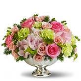 Garden Rhapsody Flower Centerpiece
