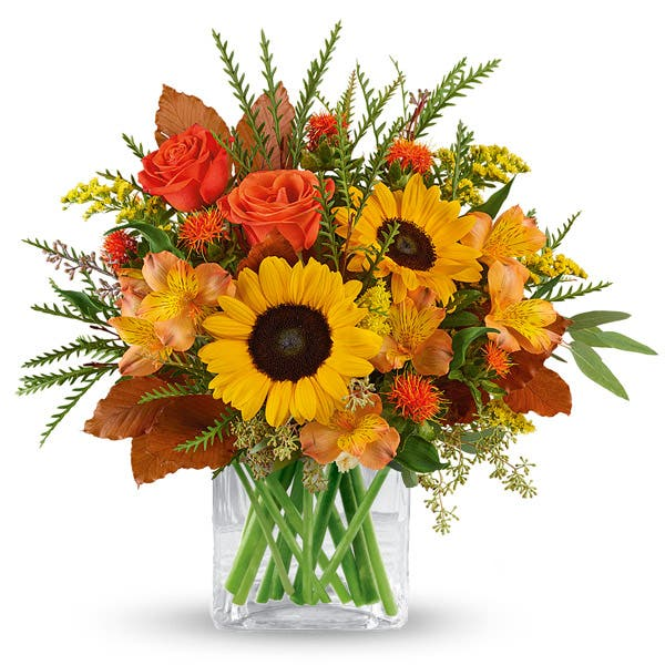 Flourishing Harvest Sunflower Bouquet