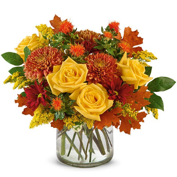 Sunny Rustic Fall Birch Bouquet