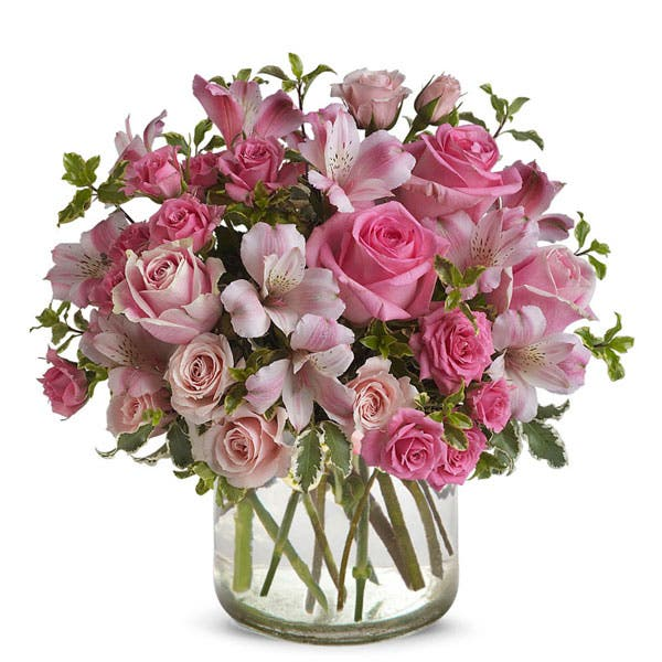Potpourri Pink Rose Mixed Bouquet