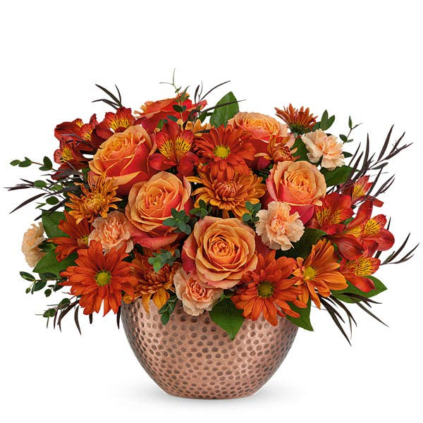 Whimsical Fall Rose Bouquet