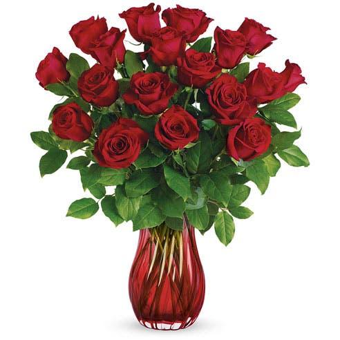 Ravishing Red Rose Bouquet