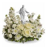 Faithful Flower Figurine Arrangement