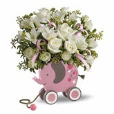 MiGi's Baby Elephant Bouquet - Pink