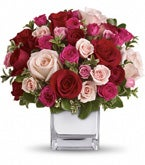 Love Medley Mixed Rose Bouquet