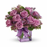 Purple Roses Melody Bouquet