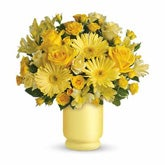 Always Sunny Yellow Rose Bouquet