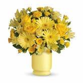 Always Sunny Yellow Daisy Bouquet