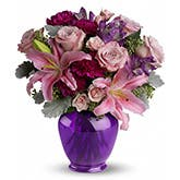 Melody Purple Flower Bouquet