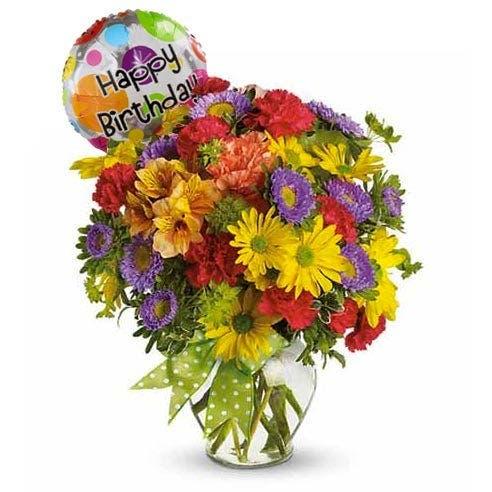 Make A Wish Birthday Balloon Bouquet