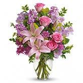 Tea Party Lily Bouquet