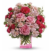 Celebrate Pink Flower Bouquet