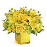 Yes To That Yellow Flower Bouquet