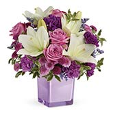 Purple Paradise Flower Bouquet