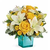 Golden Sky Flower Bouquet