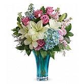 Ocean Inspiration Blue Bouquet