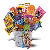 Candy Gift Basket Bucket