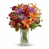Lily Goals Orange Bouquet