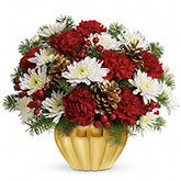 Precious Traditions Pinecone Bouquet